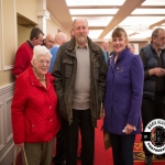 Anna Curtin, Jerry Corcoran and Chris Dundon, Mount Plesant, were pictured at the Annual Burial Ground Awards in the Woodlands House Hotel, Adare