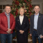 Maurice and Donie O'Connor were pictured with Councillor Brigid Teefy at the Burial Ground Awards at Fitzgerald's Woodlands House Hotel and Spa, Adare Teaffey at the Burial Ground Awards at Fitzgerald's Woodlands House Hotel and Spa, Adare