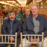 Tom Quinn and Pat Mulqueen, Kilmallock, were pictured at the Burial Ground Awards at Fitzgerald's Woodlands House Hotel and Spa, Adare