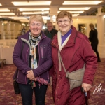 Geraldine Fitzgerald and Mary Condon, Taylor's Cross Burial Ground, were pictured at the Burial Ground Awards at Fitzgerald's Woodlands House Hotel and Spa, Adare