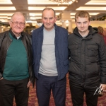 Peter Coker, Tom and Conor Enright were pictured at the Burial Ground Awards at Fitzgerald's Woodlands House Hotel and Spa, Adare