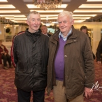 Eamon Power and Billy O'Brien, Feenagh, were pictured at the Burial Ground Awards at Fitzgerald's Woodlands House Hotel and Spa, Adare