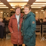 Kathleen Holland and Eileen Tynan, Kilcornan and Castletown Burial Grounds, were pictured at the Burial Ground Awards at Fitzgerald's Woodlands House Hotel and Spa, Adare