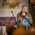 Special guest Anneke Vrieling, Ecologist, Feale Biodiversity, was pictured speaking at the Burial Ground Awards at Fitzgerald's Woodlands House Hotel and Spa, Adare