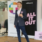 Pictured at the #CALL IT OUT event at the University of Limerick. Picture: Orla McLaughlin/ilovelimerick.