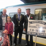 Mini-festivals for celebrating the 160th anniversary of Castleconnell train station take place on August 28. A special train rides from Limerick Colbert Station to Castleconnell for celebration. Limerick Photo: Baoyan Zhang/ilovelimerick