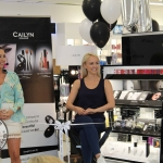 Cailyn Ireland counter launch at Shaws, Crescent Shopping Centre, Limerick with make up artist Michelle Regazzoli Stone, fitness expert Leanne Moore and style . Picture: Zoe Conway/ilovelimerick 2018.