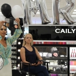 Cailyn Ireland counter launch at Shaws, Crescent Shopping Centre, Limerick with make up artist Michelle Regazzoli Stone, fitness expert Leanne Moore and style. Picture: Zoe Conway/ilovelimerick 2018.