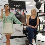 Cailyn Ireland counter launch at Shaws, Crescent Shopping Centre, Limerick make up artist Michelle Regazzoli Stone, fitness expert Leanne Moore and style. Picture: Zoe Conway/ilovelimerick 2018.