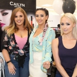 Cailyn Ireland counter launch at Shaws, Crescent Shopping Centre, Limerick with make up artists Jessica Hockedy and Michelle Regazzoli Stone, fitness expert Leanne Moore and style . Picture: Zoe Conway/ilovelimerick 2018.
