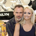Cailyn Ireland counter launch at Shaws, Crescent Shopping Centre, Limerick with Richard Lynch, ilovelimerick and fitness expert Leanne Moore and style . Picture: Zoe Conway/ilovelimerick 2018.