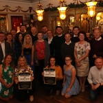 Pictured are The Cecilian Musical Society at Souths Pub for the press launch of the forthcoming production 'An Evening of Short Plays'.  Picture: Orla McLaughlin/ilovelimerick.