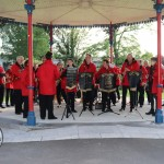 Pictured at the launch of the Celtic Bands Festival in People's Park. Picture: Orla McLaughlin/ilovelimerick.