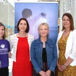 Pictured at the promo for the Children's Grief Centre Children and Loss Conference 2019 in Limerick Institute of Technology are Helen McInerney, Administration, Theresa Kavanagh, Children's Grief Centre, Carol Fitzgerald, Volunteer, and Katrina Morgan, member of the Childrens Grief Centre Fundraising Committee. Picture: Conor Owens/ilovelimerick.
