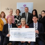 Pictured at the donation of ten thousand euros to the Children's Grief Centre in Limerick by Limerick Citizen's Bar Association are Anne English, Breda O'Driscoll, Theresa Kavanagh, Kieren O'Donouan, Lisa O'Brien, Niamh White, Robert Kennedy, president of Limerick Solicitors Bar Association, Sr Helen Culhane and Derek Walsh, secretary of Limerick Solicitors Bar Association. Picture: Orla McLoughlin/ilovelimerick.
