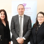 Pictured at the donation of ten thousand euros to the Children's Grief Centre in Limerick by Limerick Solicitors Bar Association are Lisa O'Brien, Kieran O'Donouan and Niamh White. Picture: Orla McLoughlin/ilovelimerick.