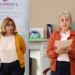 Pictured at the donation of ten thousand euros to the Children's Grief Centre in Limerick by Limerick Solicitors Bar Association are Anne English and Sr Helen Culhane. Picture: Orla McLoughlin/ilovelimerick.