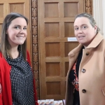 Susan O'Connor and Ciara Downey pictured at the launch of the Childrens Grief Centre's new website and leaflet. Picture: Conor Owens/ilovelimerick.