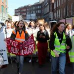 A huge crowd supported the Global Climate Strike in Limerick on September 20, 2019. Pictures: Anthony Sheehan/ilovelimerick