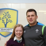CJ Stander St Munchins Community Centre. Picture: Ciara Hayes/ilovelimerick 2018. All Rights Reserved