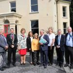 Minister Bruton came to Tait House Community Enterprise to discuss how we can take action locally and globally on climate action on Friday, September 6 2019. Picture: Richard Lynch/ilovelimerick