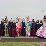 The students of Transition Year at Coláiste Nano Nagle who participated in Junk Kouture pictured with their teachers Sarah Nestor and Suzanna Donohoe. Picture: Orla McLaughlin/ilovelimerick.