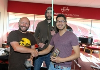 xwing 2nd place equal Buce Sutton & Sam Santijirakun.jpg with Jedi Kevin Stronach in the back ground