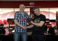 Field of Glory winner Willie Coughlan & Game organiser Aaron Leslie