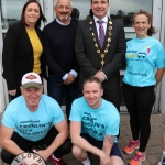 The inaugural 'Great Dalata Cycle 2018' in aid of CMRF Crumlin saw a number of Dalata Hotel Group employees cycle over 1,100km throughout the island of Ireland, is part of Dalata's wider charity initiative Dalata Digs Deep. Pictured at the cyclists arrival at the Maldron Hotel Limerick. Picture: Richard Lynch/ilovelimerick.
