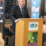 Speaking at the launch of the DEASP Limerick Autism Initiative in the Intreo Centre on Dominic Street are Jim Lynch, DEASP Division Manager. Picture: Conor Owens/ilovelimerick.