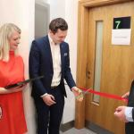Pictured at the launch of the DEASP Limerick Autism Initiative in the Intreo Centre on Dominic Street is Adam Harris, CEO of AsIAm cutting the ribbon. Picture: Conor Owens/ilovelimerick.