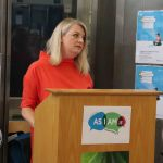 Speaking at the launch of the DEASP Limerick Autism Initiative in the Intreo Centre on Dominic Street was Denise Houlihan, DEASP event organiser. Picture: Conor Owens/ilovelimerick.