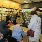 Donal Ryan Liz Nugent Booksigning at Talking Leaves Castletroy Shopping Centre. Picture: Chloe O Keefe/ilovelimerick 2018. All Rights Reserved