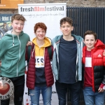 Ireland's Young Filmmaker of the Year Awards 2019 Dublin regional heats of the Fresh Film Festival at the Irish Film Institute. Picture: Conor Owens/ilovelimerick.