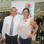 Clem Guerin, manager of Castletroy Town Centre and Emma Cross Ryan, Embody Fitness at the Embody Fitness Family Fun Event in Castletory Town Centre in aid of the Neonatal Unit in the University  Maternity Hospital Limerick on August 28, 2018. Pictures: Baoyan Zhang/ilovelimerick