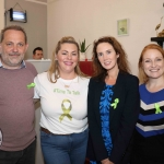 Pictured at the Ruby Sundays cafe for the EmployAbility Limerick's 'Time to Talk' day are life coach Patrick Merice, Ursula Mackenzie, EmployAbility Limerick, Mary McNamee, Limerick Chamber, and Sinead Clinton, Metis Ireland. Picture: Conor Owens/ilovelimerick.