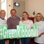 Pictured at the Ruby Sundays cafe for the EmployAbility Limerick's 'Time to Talk' day are Aine Shanahan, EmployAbility Clare, life coach Patrick Mercie, Ursula Mackenzie, EmployAbility Limerick, and Anne Buckley, EmployAbility Limerick. Picture: Conor Owens/ilovelimerick.