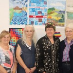 Pictured at the Limerick School of Art & Design for the EQA Patchwork and Quilting Exhibition are members of the MidWest Irish Patchwork Society Ellen McNamara, Paula Rafferty, international representitive, Kate Hennessy and Les Stanley. Picture: Conor Owens/ilovelimerick.