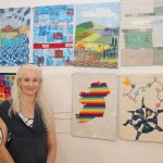 Pictured at the Limerick School of Art & Design for the EQA Patchwork and Quilting Exhibition is Paula Rafferty, international representitive of the Irish Patchwork Society. Picture: Conor Owens/ilovelimerick.