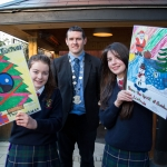 22.11.2016 REPRO FREE Christmas has come early for two Limerick students after they were named overall winners of the 2016 Limerick City Fairtrade Christmas Card Competition at a ceremony in The Savoy Hotel. Pictured at the ceremony were John the Baptist Community School in Hospital, Special Prizewinners for card promoting Fairtrade, Ciara Nash and Anna O'Riordan with Deputy Mayor Cllr. Frankie Daly. Picture: Alan Place Jessica Griffin, a first year student at John the Baptist Community School in Hospital and fifth class pupil Paul Reddan from Corpus Christi Primary School in Moyross were chosen ahead of hundreds of other local primary and secondary school students who took part. Picture: Alan Place