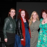 "ADAPT Domestic Abuse Services present the world premiere short film ""Free"" in the Life Centre, Henry Street on Sunday, November 25th for the the 16 days of action against violence against women. Pictured are Karen Fitzgibbon, Director, Siobhan O'Malley, Producer, with Emma Murphy, Domestic Violence Activist and Jess Angland, Training and development coordinator at ADAPT Domestic Abuse Services. Picture: Baoyan Zhang/ilovelimerick"