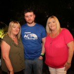 Pictured are Catherine and Jonathan Gaynor, Clareview, and Sarah Kelly, Clonlara at the Firewalk for Lola event in aid of ACT for Meningitis at the Greenhills Hotel. Picture: Orla McLaughlin/ilovelimerick.