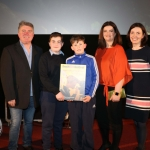 Pictured at the Junior finals for Ireland's Young Filmmaker of the Year Awards 2019 at the Odeon cinema in Castletroy. Picture: Conor Owens/ilovelimerick.