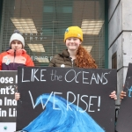 Pictured at the Fridays for Future limerick strike is Saoirse Exton. Picture: Orla McLaughlin/ilovelimerick.
