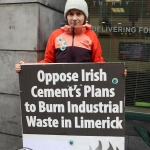 Pictured at the Fridays for Future limerick strike. Picture: Orla McLaughlin/ilovelimerick.