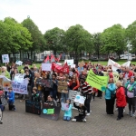 Pictured at the Limerick Fridays for Future strike in Arthurs Key Park as part of the Global Strike for Climate. Picture: Orla McLaughlin/ilovelimerick.