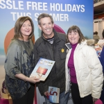 19/2/2017 With Compliments. Booking holidays early this year is essential, with last minute deals set to be few and far between, due to the rush to snap up holidays in the most popular destinations, organisers of the Holiday Show 2017, in association with Shannon Airport, have stated. Attending this years show in the UL Arena at the weekend were Margaret Slattery, FlyShannon.ie and Gerard and Catherine O'Regan from Shannon. The show is the biggest of its kind outside of Dublin and will provide holidaymakers with all the answers and tips regarding their holiday, whether it's for their annual holiday, a short break or honeymoon. Photograph Liam BurkePress 22