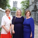 Pictured at the gala fundraiser for the upcoming Lavery/Osborne Symposium in the Hunt museum are Naomi Conlan, Lewsinda Craton and Dr Patricia Noone. Picture: Conor Owens/ilovelimerick.