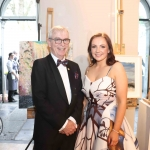 Pictured at the gala fundraiser for the upcoming Lavery/Osborne Symposium in the Hunt museum are Catrina Cahill and Dave Hickey. Picture: Conor Owens/ilovelimerick.