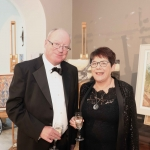 Pictured at the gala fundraiser for the upcoming Lavery/Osborne Symposium in the Hunt museum Mary English and Jim McMann. Picture: Conor Owens/ilovelimerick.
